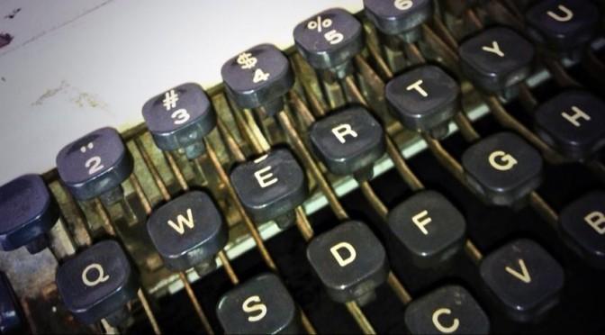 Miedo a escribir maquina qwerty