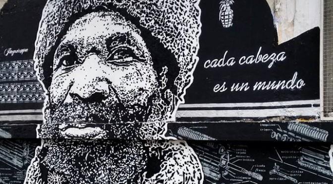 cada cabeza es un mundo graffiti